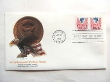 """January 26th, 1996 """"Variable Amount Postage Stamp"""" First Day Issue"""