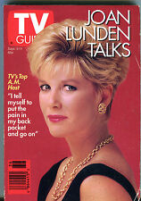 TV Guide Sept. 5-11 1992 Joan Lunden Talks EX 011416jhe
