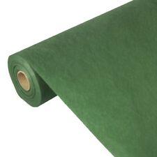 2 dunkelgrüne Tischdecke Stoffähnlich Vlies Soft Selection 40m X 0 9m auf rolle