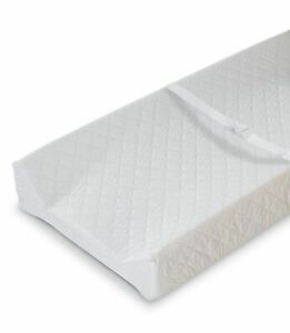 CONTOURED CHANGING PAD 2 SIDED By Summer Infant White#Z4B15