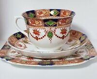 Royal Vale H.J.C Longton England, Trio, Cup,Saucer + Cake Plate