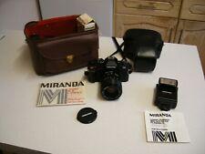 Vintage Miranda M5-2 SLR Camera Kit in Carry Case (2403)