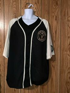 VTG Negro League Baseball Players Mesh Jersey NLBPA New York Black Yankees