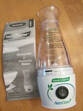 Aerogarden Aerogrow Herb N Serve Vinaigrette Maker