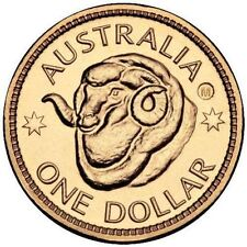 2011 $1 RAMS SYDNEY S COUNTERSTAMP COUNTER STAMP COIN RAMS HEAD