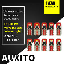 New list 00004000 ing 10x Auxito 6000k White 194 2825 168 Led Light Bulbs 2E-Smd For car truck Suv c2