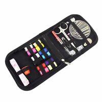 Portable Voyage Maison Couture Kit Cas Aiguille Fil Ruban Ciseaux Bouton Art M1U