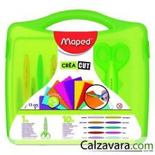 Maped Valigetta Forbici Creative + 10 Lame - Scissors 10 Creative Cutting Craft