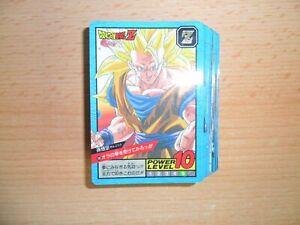 Dragon Ball Super Battle carddass Part 13 Reg Regular Set 38/38 Card 1995 JAPAN