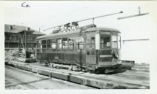 5G599 RP 1940s MONTREAL TRANSPORTATION CO RAILROAD CAR #98 CAR DEPOT MONTREAL PQ