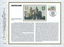 FEUILLET CEF / DOCUMENT PHILATELIQUE / MONTBELIARD 1993