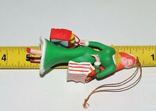 "Vintage Estate Disney Jessica Christmas Ornament 4.25"" By 2"""