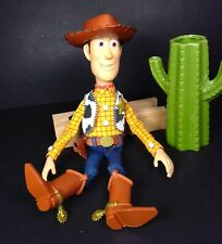 Toy Story Woody Talking Doll Disney Pixar Thinkway Toys Pull String With Hat