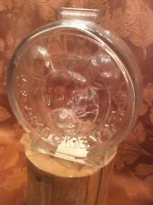 The Walt Disney Company Mickey And Minnie Glass Piggy Bank Anchor Hocking Glass