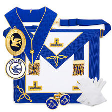 More details for craft provincial undress lambskin pack regalia (apron, collar, jewel, badge)