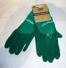 Town & Country Master Gardener Ladies Gardening Gloves Size SMALL (Green)