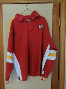 Kansas City Chiefs Starter PROLINE Embroidered VTG Sweatshirt/Long Sleeve Shirt