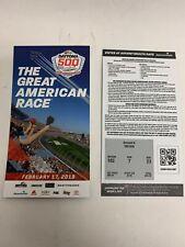 2019 Daytona 500 Commemorative Ticket NASCAR