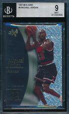 MICHAEL JORDAN 1997-98 SKYBOX E-X2001 BGS 9 MINT ACETATE CARD #9!  TOUGH!