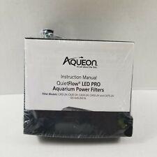 Aqueon QuietFlow LED PRO Aquarium Power Filters 10 NO BOX