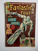 Fantastic Four # 50 Silver Surfer & Galactus appearance - Wyatt Wingfoot 1966