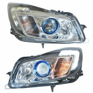 2Pcs HID Xenon Headlights Replace Original Halogen Fit For Buick Regal 2011-2013