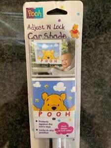 Winnie the Pooh Adjust N Lock Car Shade