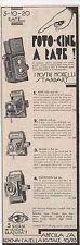 Pubblicità vintage BALDAX FOTO ANFORA PHOTO reklame old advert werbung publicitè