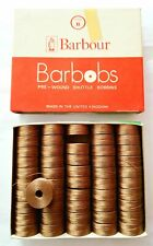 Barbour Barbobs Pre-Wound Shuttle Bobbins Pack 50 x BEIGE 2773 Style B 44 MTRS..