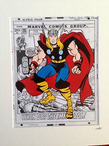 Thor - Marvel Comics - Hand Drawn & Hand Painted Cel