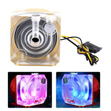SC-P90 Acylic Water Cooling Pump With Colorful RGB Lights For PC Liquid Cooling