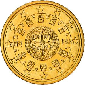 [#382314] Portugal, 50 Euro Cent, 2009, Lisbonne, SPL+, Laiton, KM:765