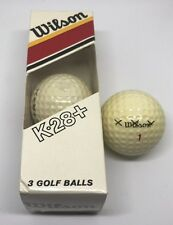 VINTAGE  WILSON   K28  GOLF BALLS  New In Box