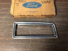 1975-76 FORD LTD LANDAU CUSTOM 500 RH OPERA WINDOW TRIM MOULDING NOS FORD 1218