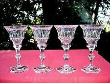 MOSER DIPLOMATE WINE GLASSES VERRE A VIN CRISTAL TAILLÉ BOHEME ÖSTERREICH BÖHMEN