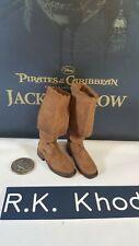 Hot Toys DX06 Disney POTC Captain Jack Sparrow 1:6 action figure's Boots/ shoes