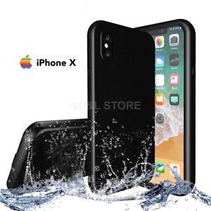 COVER per Iphone X IMPERMEABILE SUBACQUEA Waterproof SABBIA NEVE ACQUA MARE
