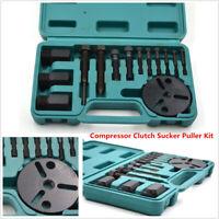 14Pcs Car AC Repair Tools R134a R12 Compressor Clutch Sucker Puller Remover Kit
