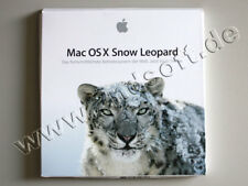 MAC OS X Snow Leopard (10.6) Vollversion, deutsch - neu, SKU: 1PMC573D/A