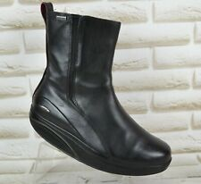 Mbt ankle boots leather textile AB189