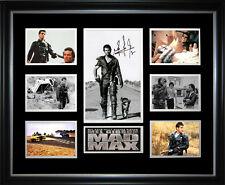 Mad Max Signed Framed Memorabilia