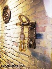 LAMPADA DA PARETE APPLIQUE RUSTICO COUNTRY VINTAGE