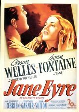POSTCARD REPRODUCTION FROM AN OLD MOVIE POSTER USED BY THEATRES JANE EYRE