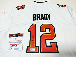 Tampa Bay Buccaneers No.12 Autographed Super Bowl LV Jersey with COA