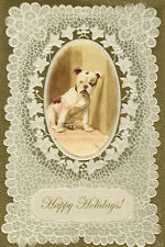 Vintage English Bulldog by Cecil Aldin - LARGE New Blank Christmas Note Cards