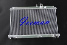 2 Rows 2004-2008 FIT FOR MAZDA RX8  ALL ALUMINUM RACING RADIATOR
