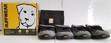 Ruffwear GripTrex Dog Boots, Set of 4, Black/Grey, Size 2.75in/70mm w/ Carry Bag