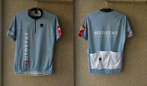 SPORTFUL CYCLING SHIRT SWISS NEDSTAT 2010 JERSEY XL CAMISETA HOLLAND