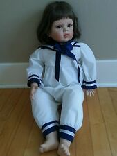 Vinly And Cloth Sailor Doll By Fayvah Spanos