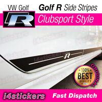 VW Golf R MK7 MK7.5 Strisce Laterali Adesivi Grafiche 5 Porte Clubsport Stile